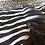 Genuine Zebra Hide Rug