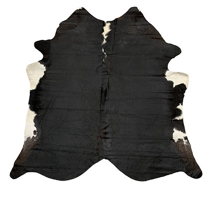 Cowhide Rug | Black and White | L | 10191