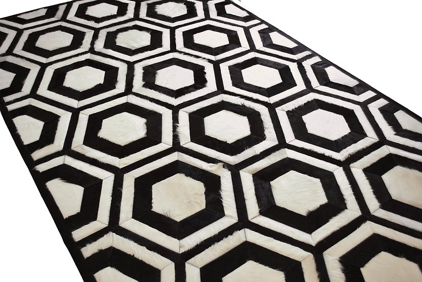 Cowhide Design Rug | Miami