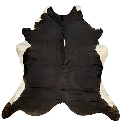 Cowhide Rug | Black and White | L | 10230
