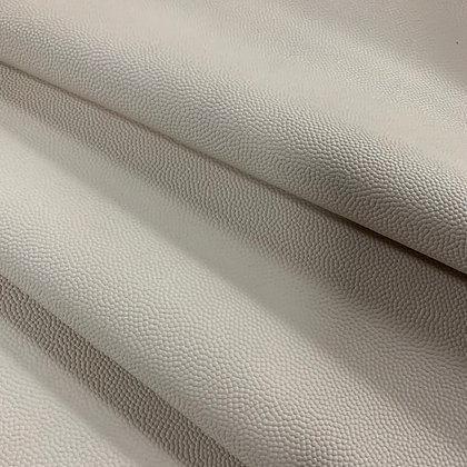 Soft Caviar Leather | Off White | 1sqft Panel