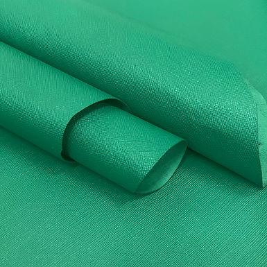 Chevre Saffiano   Emerald Green   Alran SAS