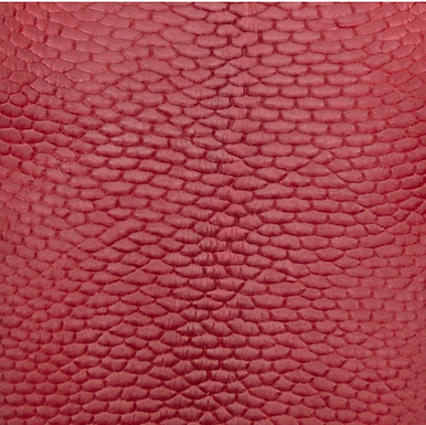Beaver Tail Leather   Red
