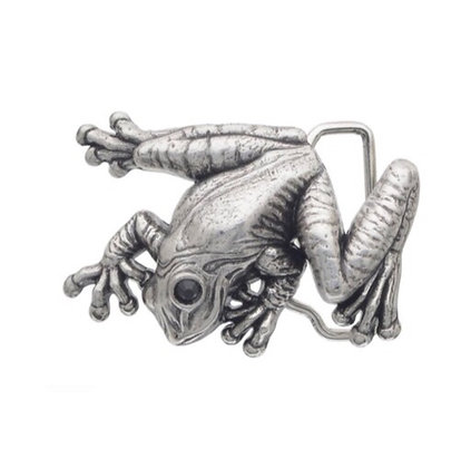 3D Belt Buckle | Tree Frog Design
