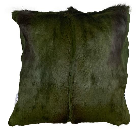 Springbok Hide Cushion Olive Green
