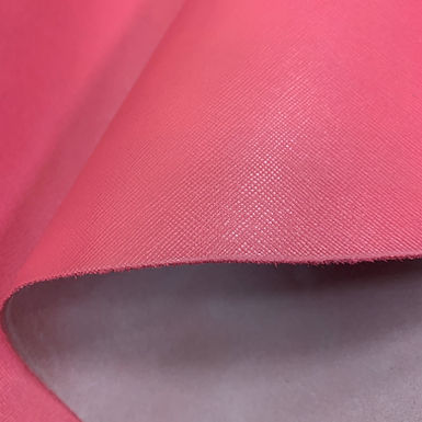 Saffiano Leather | Hot Pink