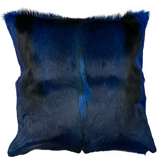 Springbok Hide Cushion | Navy