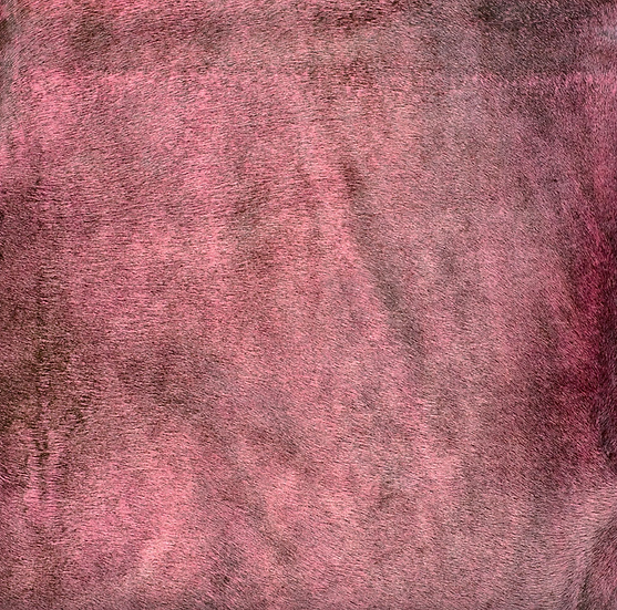 Italian Dyed Cowhide Rug | Corrosion | Bloody Mary