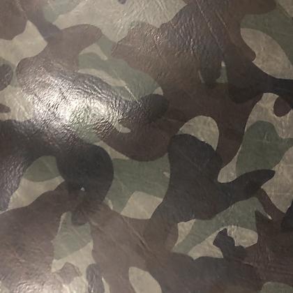 El Vaquero Camo Leather | Grigio | La Perla Azzura