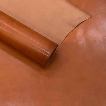 Cordovan Shoulder | Marlboro Orange | Virgilio Conceria Artigiana
