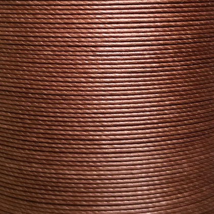 Superfine Waxed Linen Thread | Umber | MS083