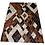 Thumbnail: Panama Patchwork Cowhide Rug   Diamonds Design 160 x 220cm