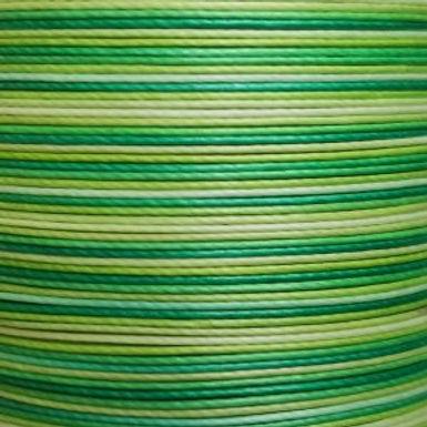 Superfine Waxed Linen Thread | Gradient Green | MS071