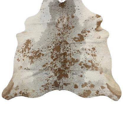 Cowhide Rug   Brown Speckle   L   10078