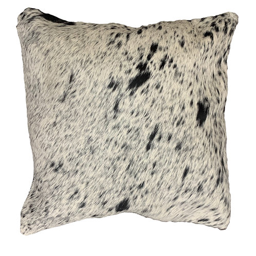 Cowhide Cushion | Black Speckle | 50cm x 50cm