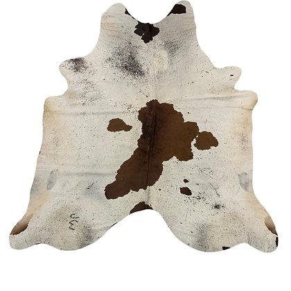 Cowhide Rug | Brown Speckle | L | 10079