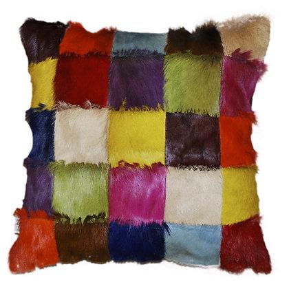 Springbok Patchwork Cushion | Multicolour 45cm x 45cm