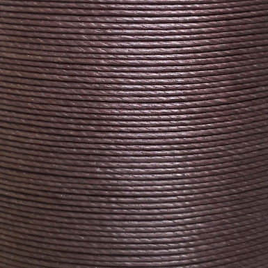 Superfine Waxed Linen Thread | Chocolate | MS084