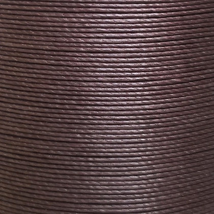 Superfine Waxed Linen Thread | Chocolate | MS084