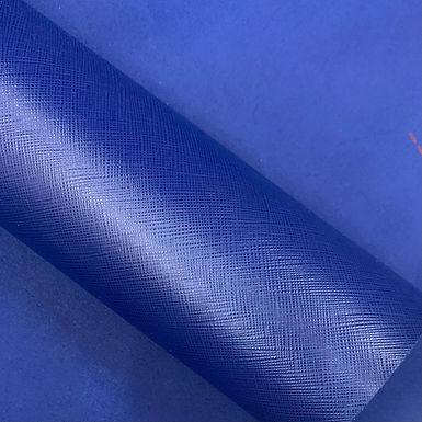 Saffiano Leather   Royal Blue
