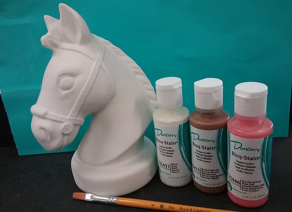 Horse Head Bank Paint Kit To Go