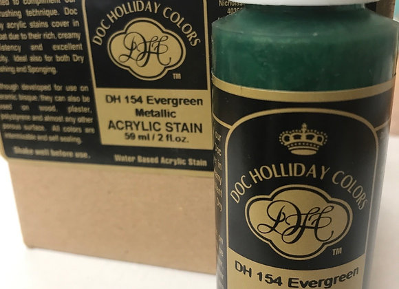 Evergreen metallic- DH154 Acrylic