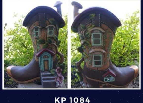 Boot Fairy House