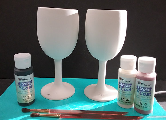 Create Your Own Wine glass set