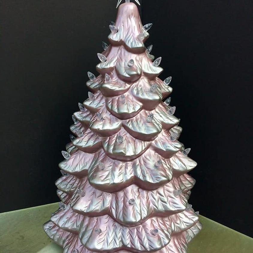 Liquid Foil Vintage Ceramic Tree Workshop (SOLD OUT)