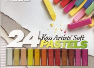 Chalk Set of 24 Pastels- Koss