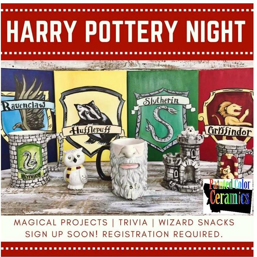 Harry Potters Birthday Paint Night