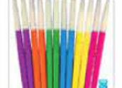 Kids Natural Hair Brush Pack 12pc