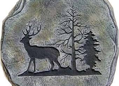 Deer Stepping Stone-Bisque