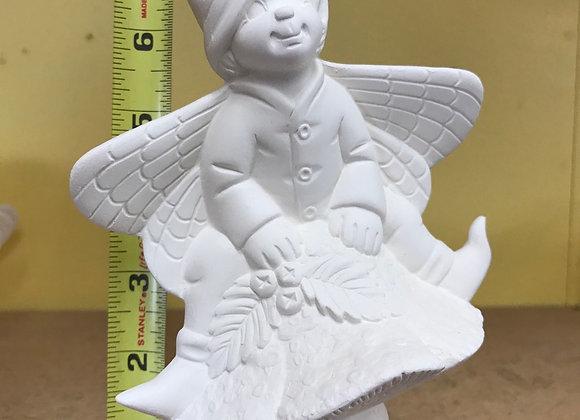 Butterfly Boy on Mushroom