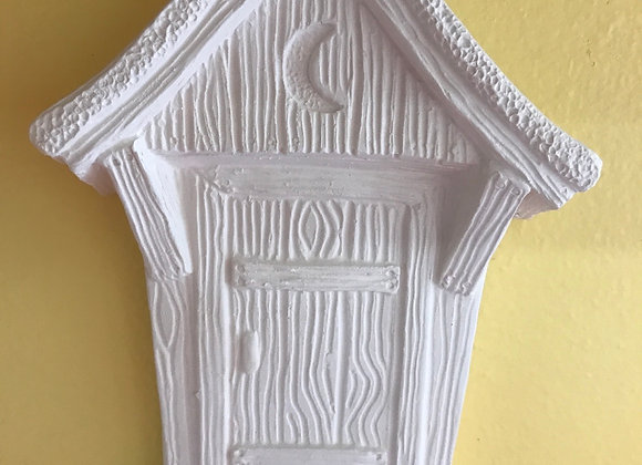Outhouse Wall Hanging