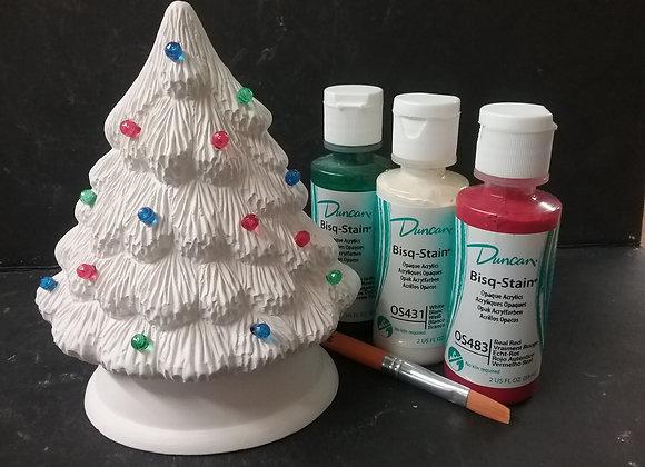 Holiday Tree Paint Kit To Go