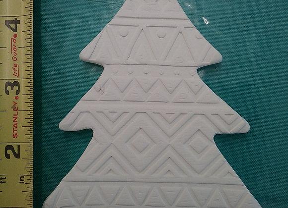 Texture tree ornament