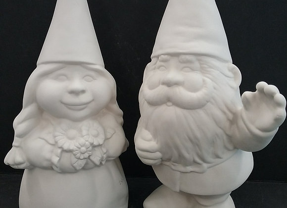 Gnome Couple (set)