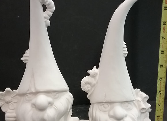 Garden Gnome Set of Two
