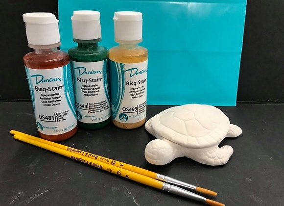 Sea Turtle Paint Kit To Go