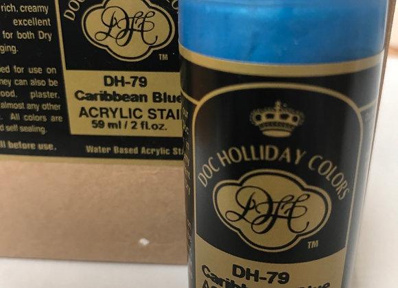 Carribbean Blue Metallic- DH79- Acrylic