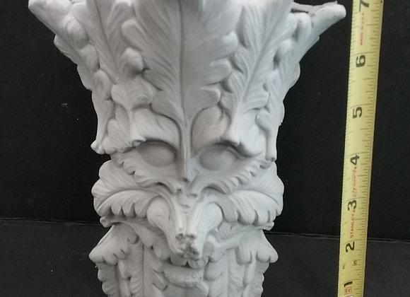 Green man vase medium