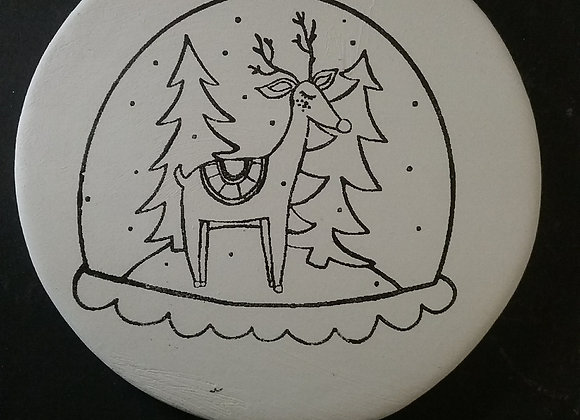 Snowglobe ornament