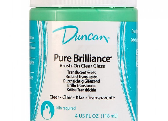 Duncan Pure Brilliance Clear Glaze- Fired Product