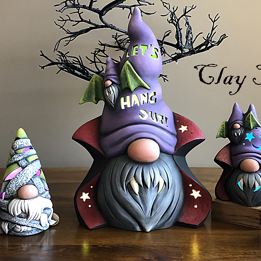 (SOLD OUT) Halloween Gnome Workshop