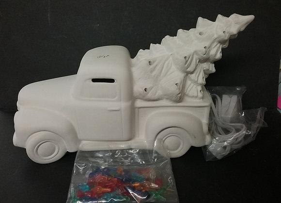 Light Up Truck With Tree Kit