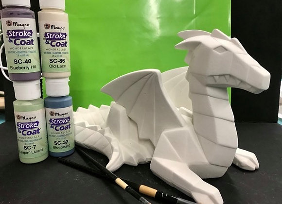Dragon Paint Kit To Go- Glaze