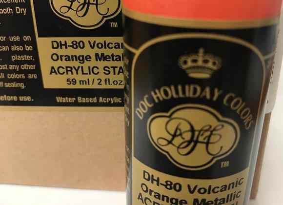 Volcanic Orange Metallc- DH80- Acrylic