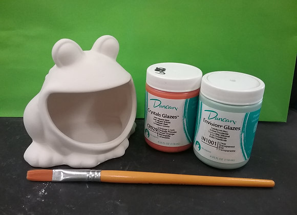 Frog Scrubber Holder Paint Kit To  Go