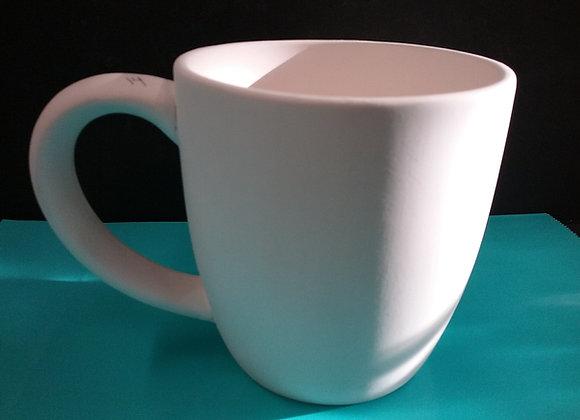 Large double cup mug
